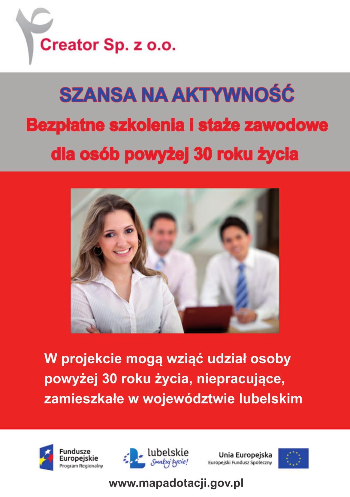 Rozpoczęła się rekrutacja do nowych projektów współfinansowanych ze środków UE