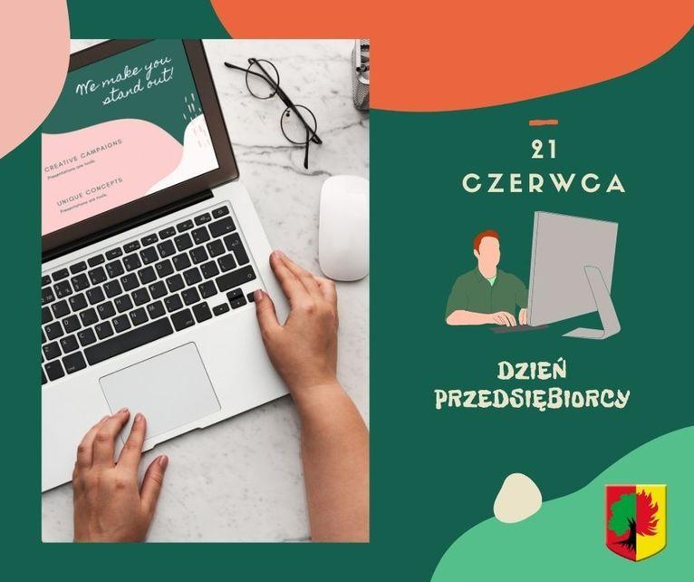 dzień przedsiębiorcy plakat ilustracje