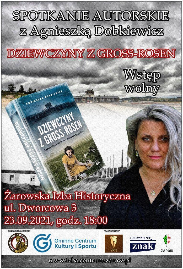 spotkanie autorskie z Agnieszką Dobkiewicz