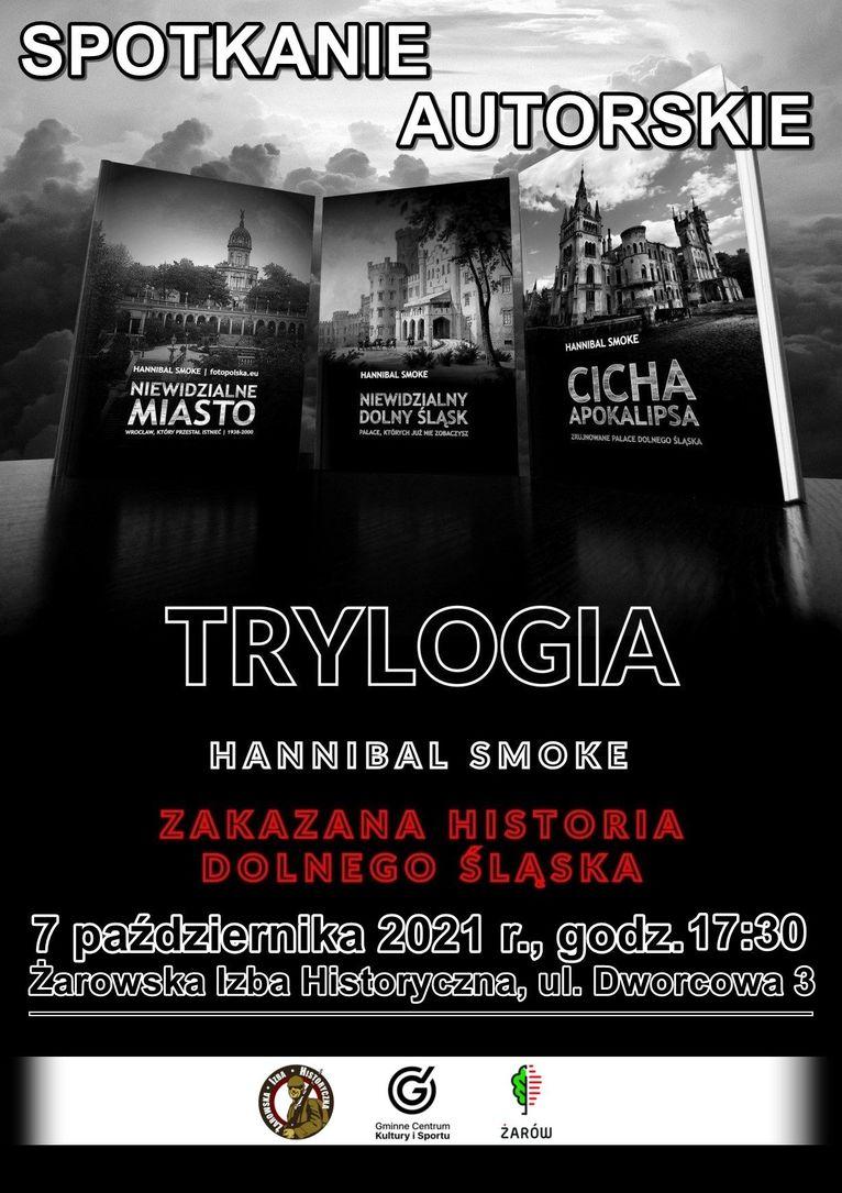 spotkanie i prelekcja Żarowska Izba Historyczna plakat