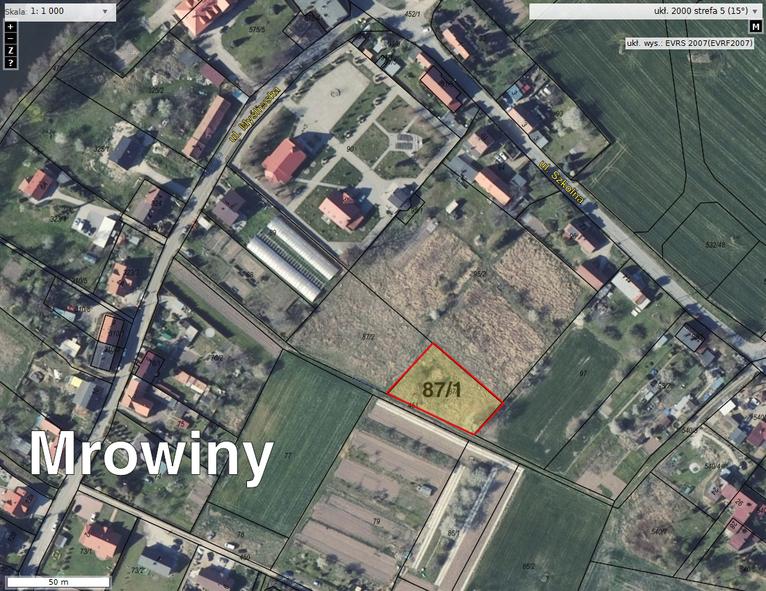 Mapa - lokalizacja działki