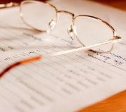 Okulary na dokumencie